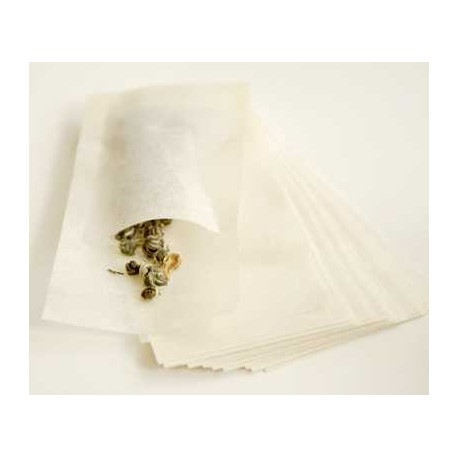 T-SAC Non-bleached paper tea bags - Large Pot sized