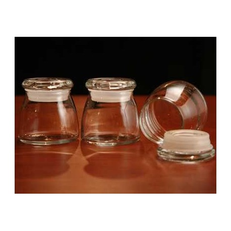 Spice Jars - 4 oz. clear glass