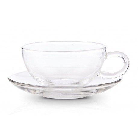 8 ounce  Borosilicate Glass Tea Cup