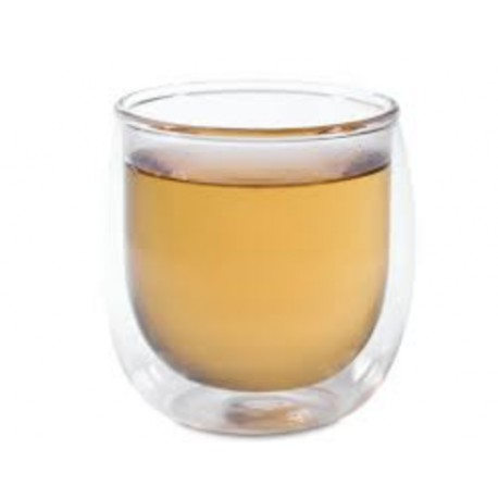 Finum 5oz Double Wall Glass Cup